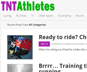 Launched new website – TNTAthletes.com